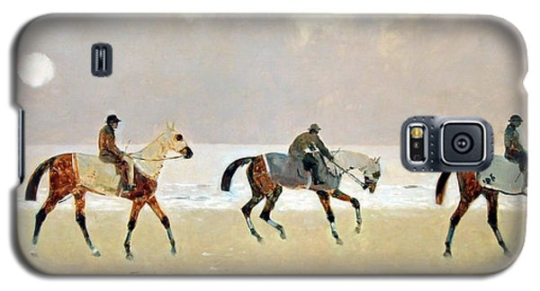 Princeteau's Riders On The Beach At Dieppe Galaxy S5 Case