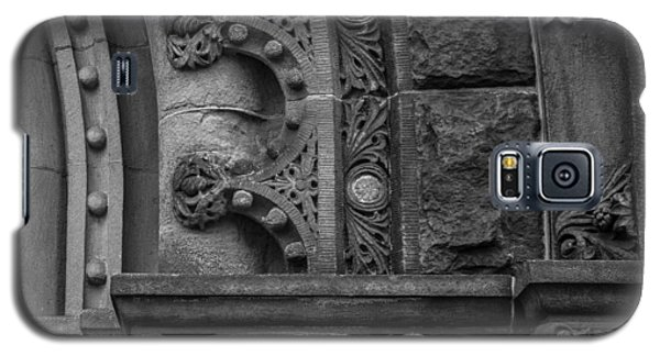 Galaxy S5 Case featuring the photograph Princeton Architectural Detail by Glenn DiPaola