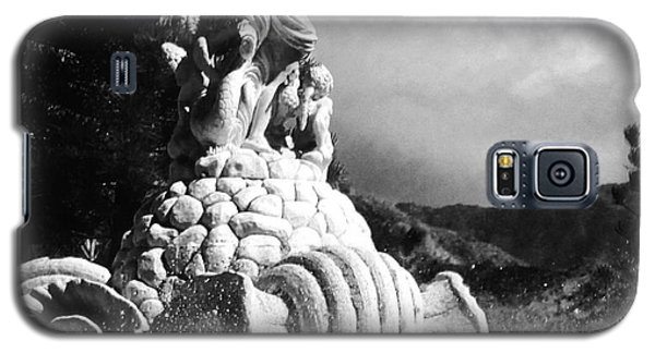 Galaxy S5 Case featuring the photograph Princeville Black And White by Alohi Fujimoto