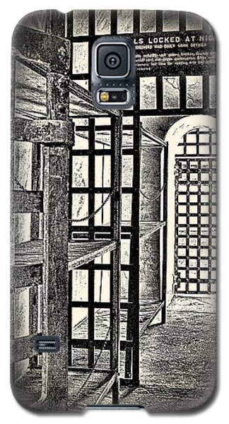 Galaxy S5 Case featuring the photograph Prison Cell ... by Chuck Caramella