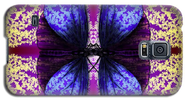 Galaxy S5 Case featuring the digital art Prisoner Butterflies by Rosa Cobos