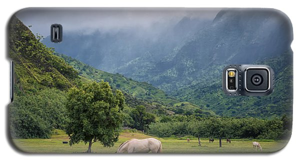 Galaxy S5 Case featuring the photograph Pristine Pastures  by Hawaii  Fine Art Photography