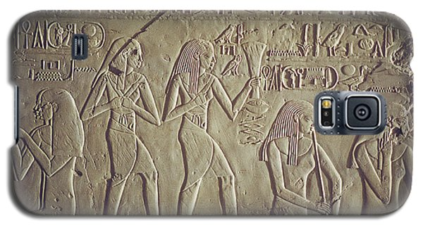 Private Tomb Of Kheruef Kheruf Cheriuf Tt 192 Asasif-stock Image-fine Art Print-valley Of The Kings Galaxy S5 Case