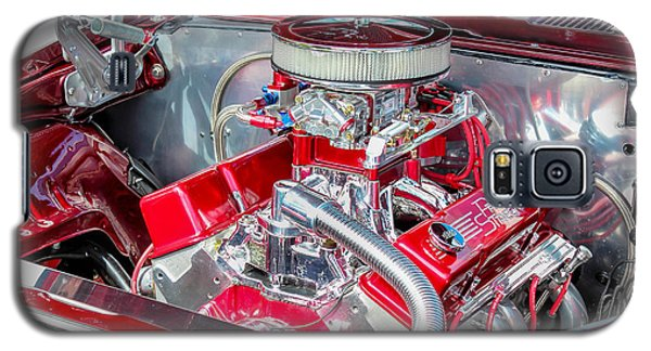 Galaxy S5 Case featuring the photograph Pro Street Hot Rod Engine  by Trace Kittrell