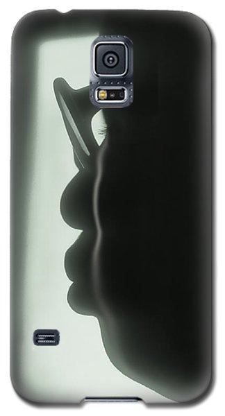 Profile Of A Woman Galaxy S5 Case