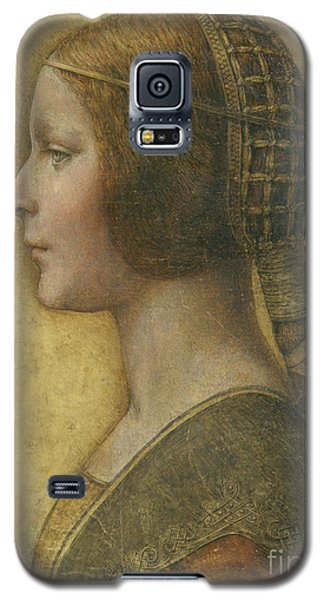 Portraits Galaxy S5 Case - Profile Of A Young Fiancee by Leonardo Da Vinci