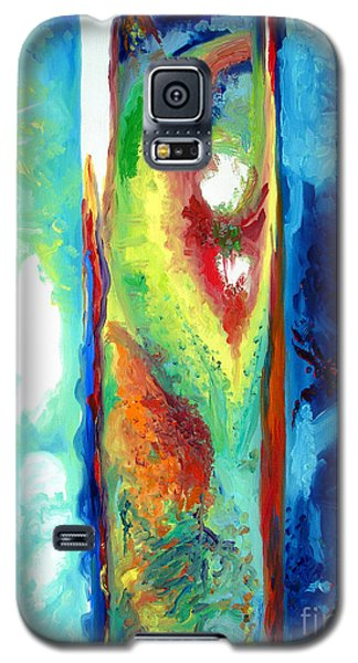 Galaxy S5 Case featuring the painting Progress II by Daniel Janda