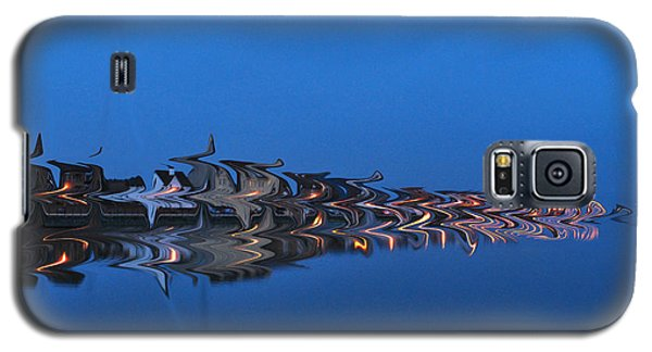 Promenade In Blue  Galaxy S5 Case by Spikey Mouse Photography