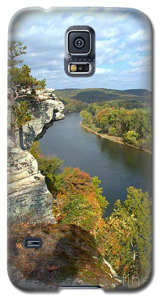 Galaxy S5 Case featuring the photograph Promontory Point by Jim McCain