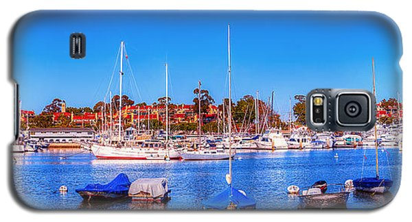 Galaxy S5 Case featuring the photograph Promontory Point - Newport Beach by Jim Carrell