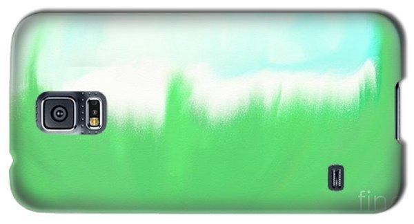 Galaxy S5 Case featuring the painting Prosperity by Shalindi Wijayathunga