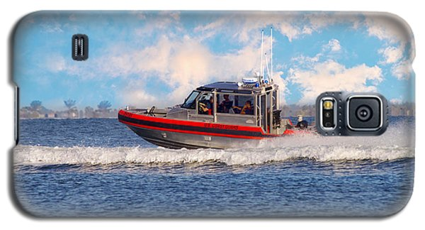 Protecting Our Waters - Coast Guard Galaxy S5 Case by Kim Hojnacki