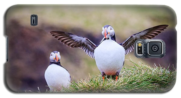 Proud Puffin Galaxy S5 Case