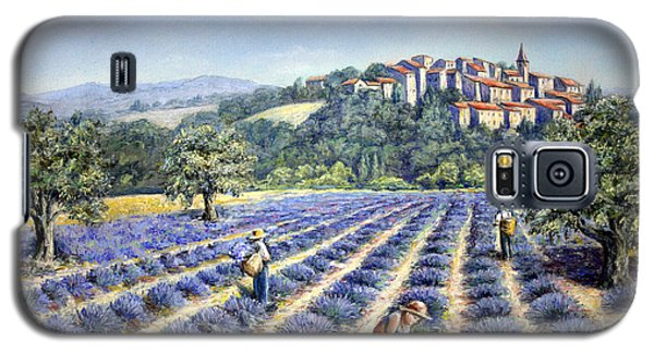 Galaxy S5 Case featuring the painting Provencal Harvest by Rosemary Colyer