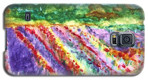 Provence France Field Of Flowers Galaxy S5 Case