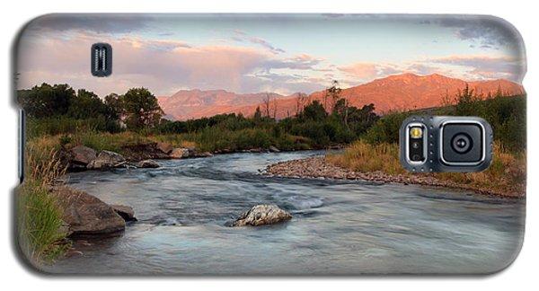 Provo River Sunrise Galaxy S5 Case