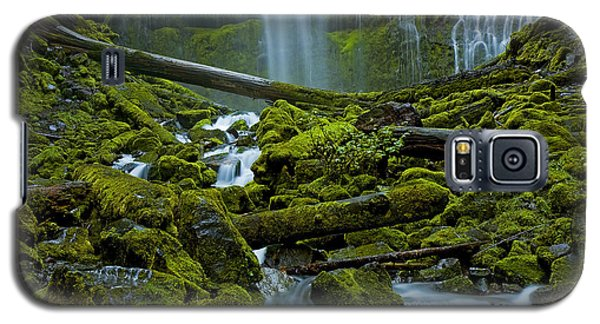 Galaxy S5 Case featuring the photograph Proxy Falls by Nick  Boren