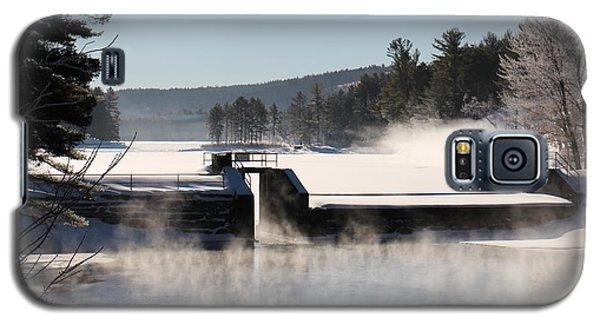 Winter  Pine River Pond  Galaxy S5 Case