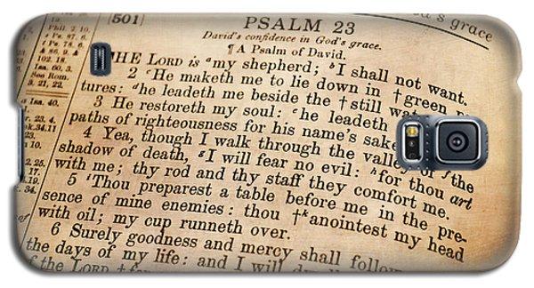 Psalm 23 - The Lord Is My Shepherd Galaxy S5 Case by Deena Stoddard