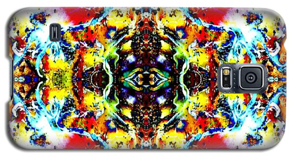 Galaxy S5 Case featuring the photograph Psychedelic Abstraction by Marianne Dow