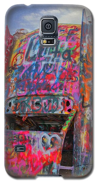 Psychedelic Cadillac Galaxy S5 Case by Kathleen Scanlan