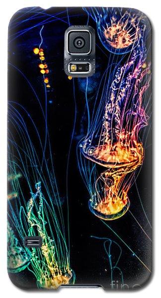 Psychedelic Cnidaria Galaxy S5 Case