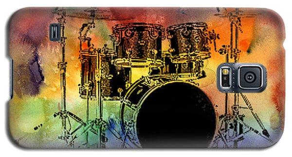 Psychedelic Drum Set Galaxy S5 Case