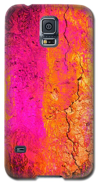 Galaxy S5 Case featuring the digital art Psychedelic Flashback - Late 1960s by Absinthe Art By Michelle LeAnn Scott