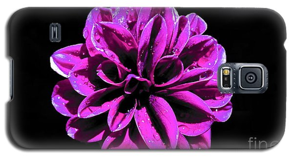 Galaxy S5 Case featuring the photograph Psychedelic Flower 1 by Sarah Mullin