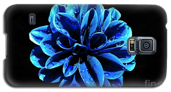 Galaxy S5 Case featuring the photograph Psychedelic Flower 4 by Sarah Mullin