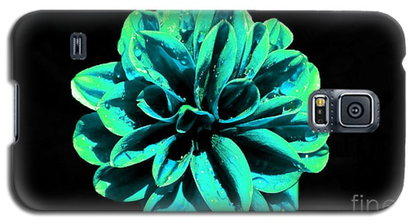 Galaxy S5 Case featuring the photograph Psychedelic Flower 5 by Sarah Mullin