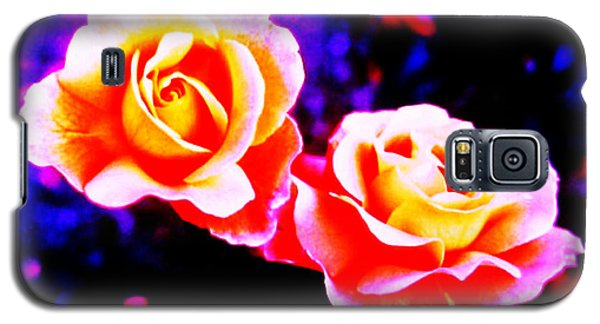 Psychedelic Roses Galaxy S5 Case by Martin Howard