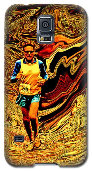 Psycho Run Galaxy S5 Case by Michael Nowotny