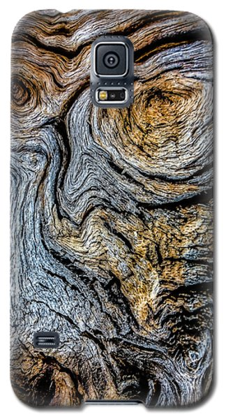Galaxy S5 Case featuring the photograph Psychedelic Wood by Beverly Parks