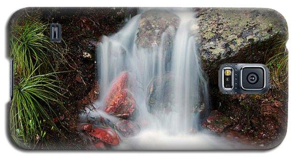 Ptarmigan Trail Waterfall No.2 Galaxy S5 Case by Daniel Woodrum