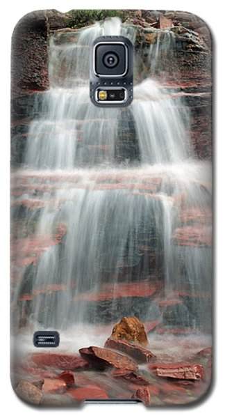 Ptarmigan Trail Waterfall No.4 Galaxy S5 Case