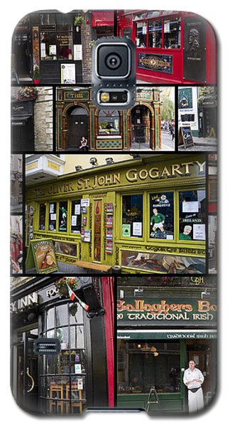Pubs Of Dublin Galaxy S5 Case by David Smith