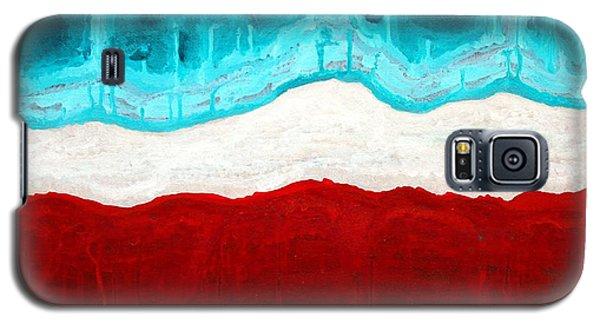 Pueblo Cemetery Original Painting Galaxy S5 Case