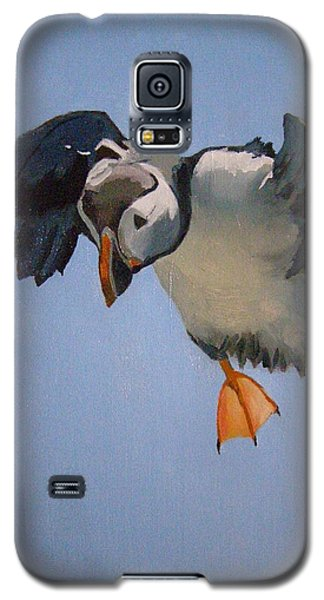 Puffin Landing Galaxy S5 Case