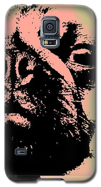 Pug Pop Art Galaxy S5 Case by Jean luc Comperat