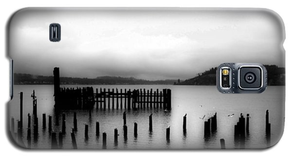 Puget Sound Cold Morning Galaxy S5 Case by Kandy Hurley