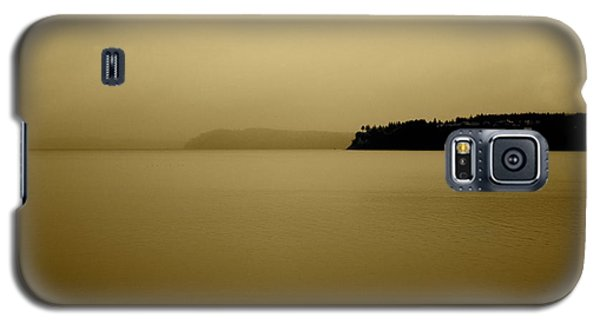 Puget Sound In Sepia Galaxy S5 Case by Kandy Hurley
