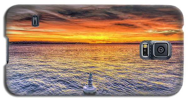 Puget Sound Sunset Galaxy S5 Case by Spencer McDonald