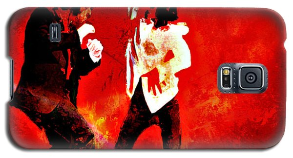 Galaxy S5 Case featuring the painting Pulp Fiction Dance 2 by Brian Reaves
