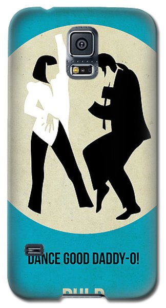 Pulp Fiction Poster 2 Galaxy S5 Case by Naxart Studio