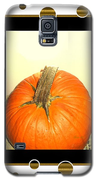 Pumpkin Card Galaxy S5 Case