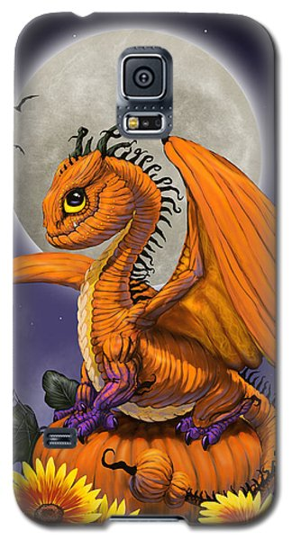 Pumpkin Dragon Galaxy S5 Case