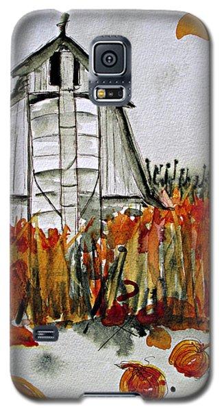 Pumpkin Dreams Galaxy S5 Case
