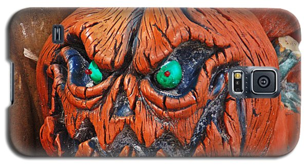 Pumpkin Face Galaxy S5 Case by Aimee L Maher Photography and Art Visit ALMGallerydotcom