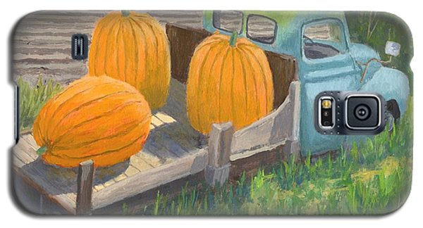 Pumpkin Truck Galaxy S5 Case